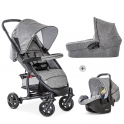 Hauck Malibu 4 Trio Set-Melange/Grey (New 2019)