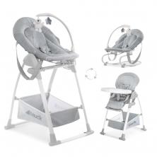 Hauck Sit n Relax 3in1 Highchair-Stretch Grey (2020)