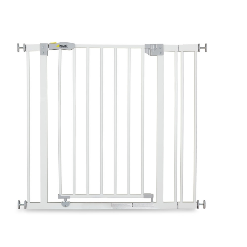Hauck Open n Stop Safety Gate +9cm Extension-White (New 2018)