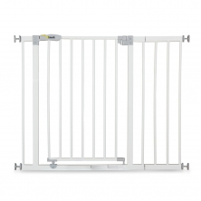 Hauck Open n Stop Safety Gate +21cm Extension-White (2020)