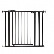 Hauck Close n Stop Safety Gate +9cm Extension-Charcoal (2020)