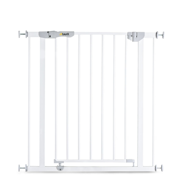 Hauck Auto Close n Stop Safety Gate-White