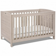 Silver Cross New England Cot Bed and Dresser-Oak