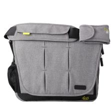 BabaBing DayTripper City Deluxe Changing Bag-Grey