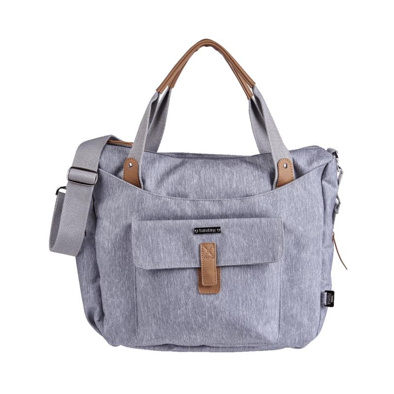 BabaBing Roma 2 Changing Bag-Grey Marl