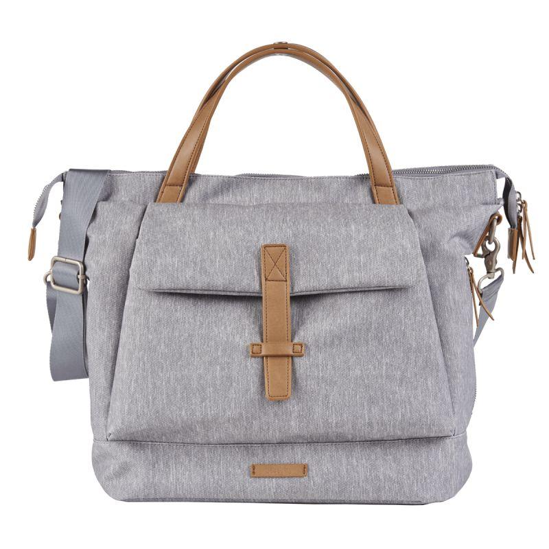 BabaBing Erin Tote Changing & Hospital Bag-Grey Marl