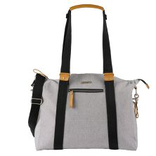 BabaBing Harvey Tote PAC Changing Bag-Stone