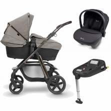 Silver Cross Pioneer Special Edition Pram System+Simplicity Car Seat+Isofix Base-Expedition