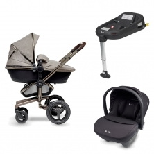 Silver Cross Surf Special Edition Pram System+Simplicity Car Seat+Isofix Base-Expedition