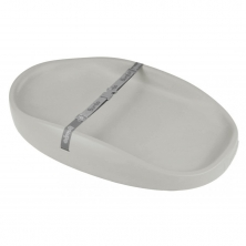 Bumbo Changing Pad-Cool Grey
