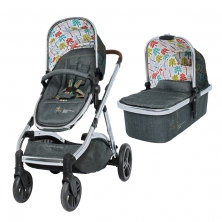 Cosatto Wow XL 3in1 Pushchair and Pram-Nordik (New 2019)