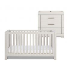 Silver Cross Coastline Cot Bed and Dresser