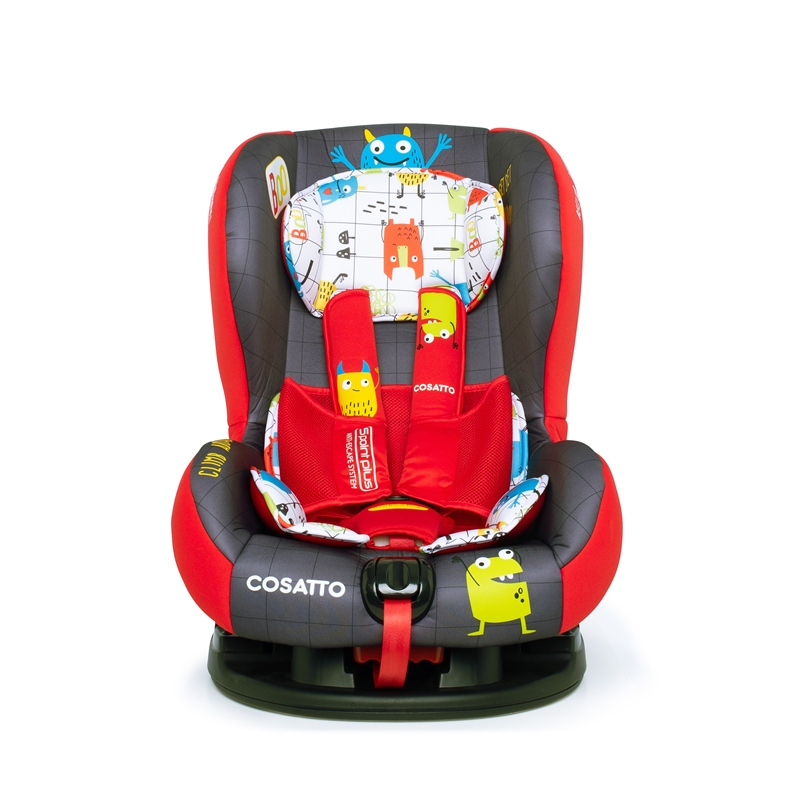 Cosatto Moova 2 (5 Point Plus) Group 1 Car Seat-Monster Mob (New)