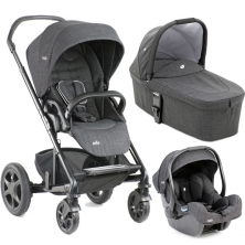 Joie Chrome DLX 3in1, i-Gemm Travel System-Pavement (New)