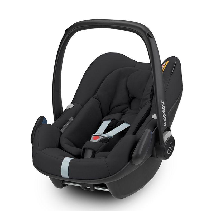 maxi cosi pebble plus 0 car seat for quinny black new 2019. Black Bedroom Furniture Sets. Home Design Ideas