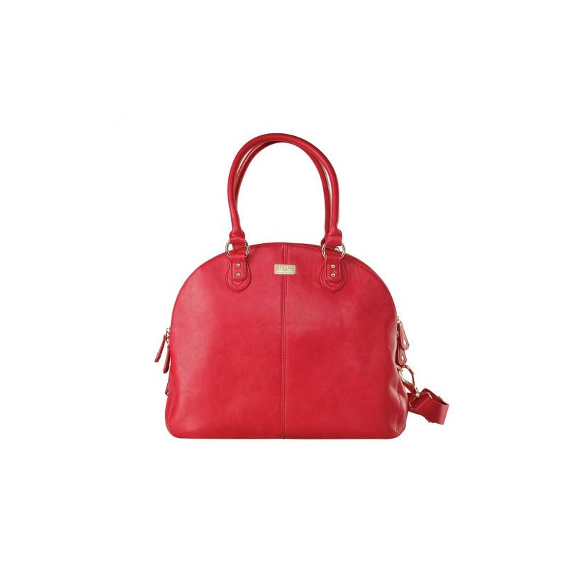 isoki Madame Polly Changing Bag-Red
