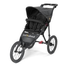 Out n About Nipper SPORT V4 Stroller-Raven Black + FREE Shopping Basket Worth 23.95!