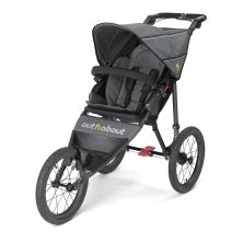 Out n About Nipper SPORT V4 Stroller-Steel Grey + FREE Miniland Thermometer Set Worth £21.99!