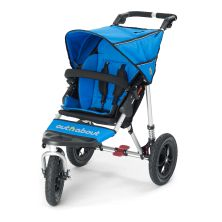 Out n About Nipper Single 360 V4 Stroller-Lagoon Blue + FREE Clip On Toy Worth £20!