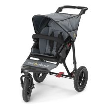 Out n About Nipper Single 360 V4 Stroller-Steel Grey + FREE Shopping Basket Worth 23.95!