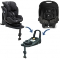 Joie Stages Isofix + Gemm Bundle-Pavement