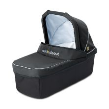 Out 'n' About Nipper Single Carrycot-Raven Black