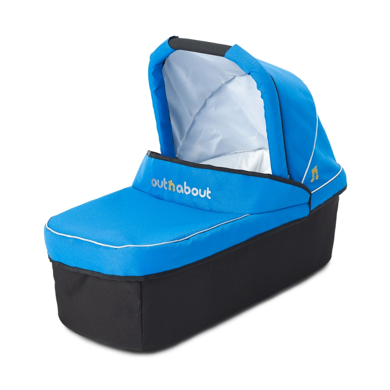 Out 'n' About Nipper Single Carrycot-Lagoon Blue