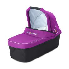 Out 'n' About Nipper Single Carrycot-Purple Punch