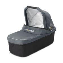 Out 'n' About Nipper Single Carrycot-Steel Grey