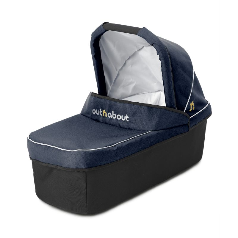Out 'n' About Nipper Single Carrycot-Royal Navy