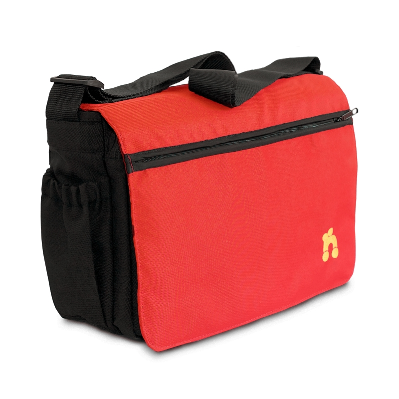 Out n About Changing Bag-Carnival Red