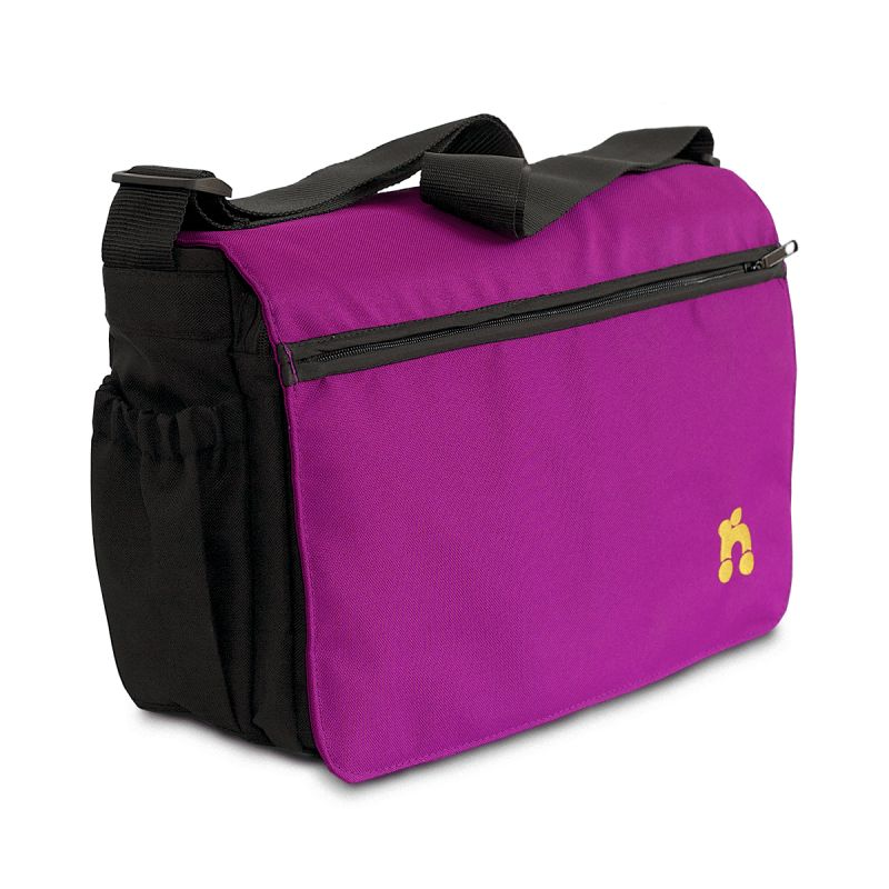 Out n About Changing Bag-Purple Punch