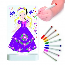 Aloka Colour And Shine Children's Night Light-Princess