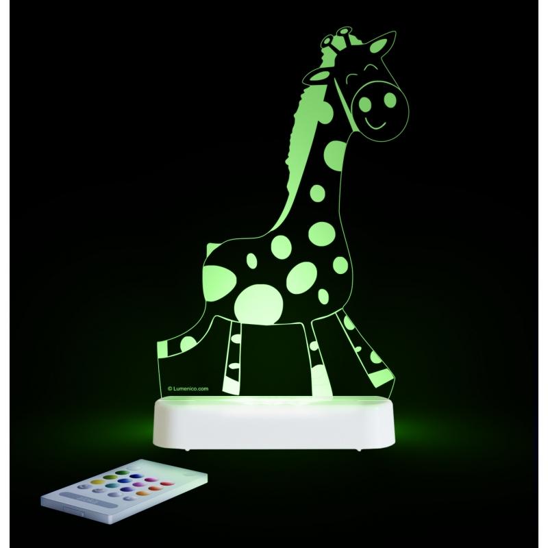 Aloka Multi Coloured Children's Night Light-Giraffe