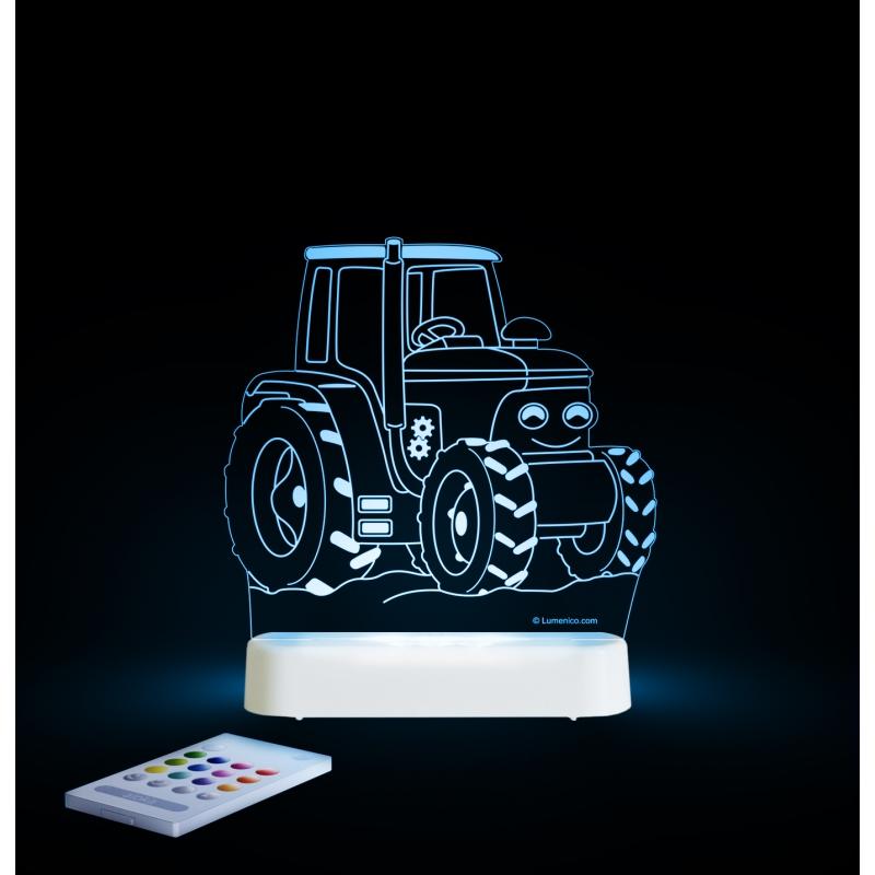 Aloka Multi Coloured Children's Night Light-Tractor