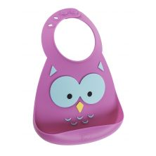 Make My Day Baby Bibs-Owl