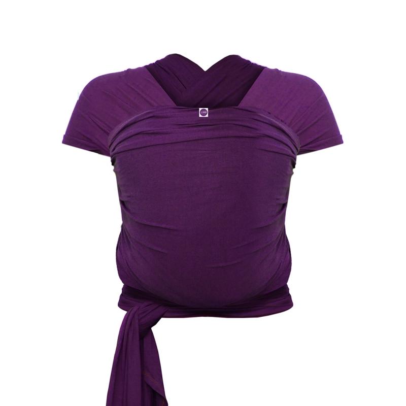 Izmi Baby Wrap Bamboo-Purple