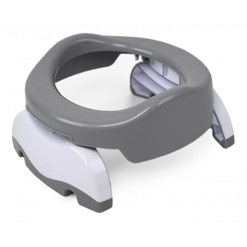 Potette Plus Folding Potty-Grey/White