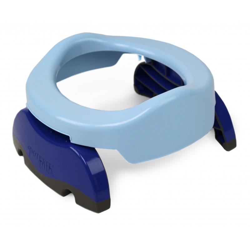 Potette Plus Folding Potty-Blue/Navy