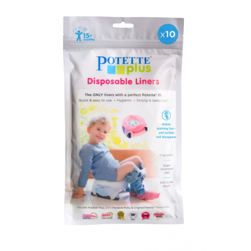 Potette Plus Disposable Liners-10 Pack