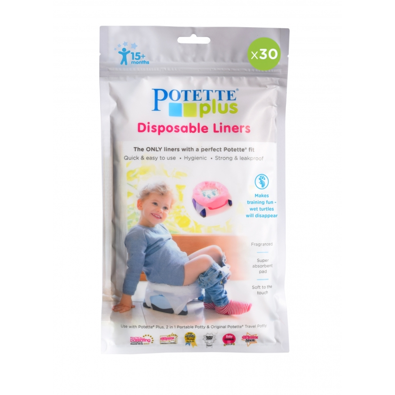 Potette Plus Disposable Liners-30 Pack