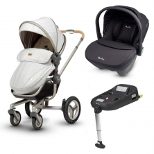 Silver Cross Surf Special Edition Travel System With Base-Timeless