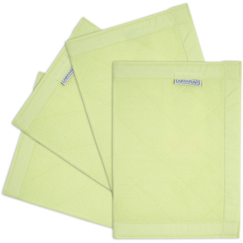 Airwrap 4 Sided Cot Protector-Green