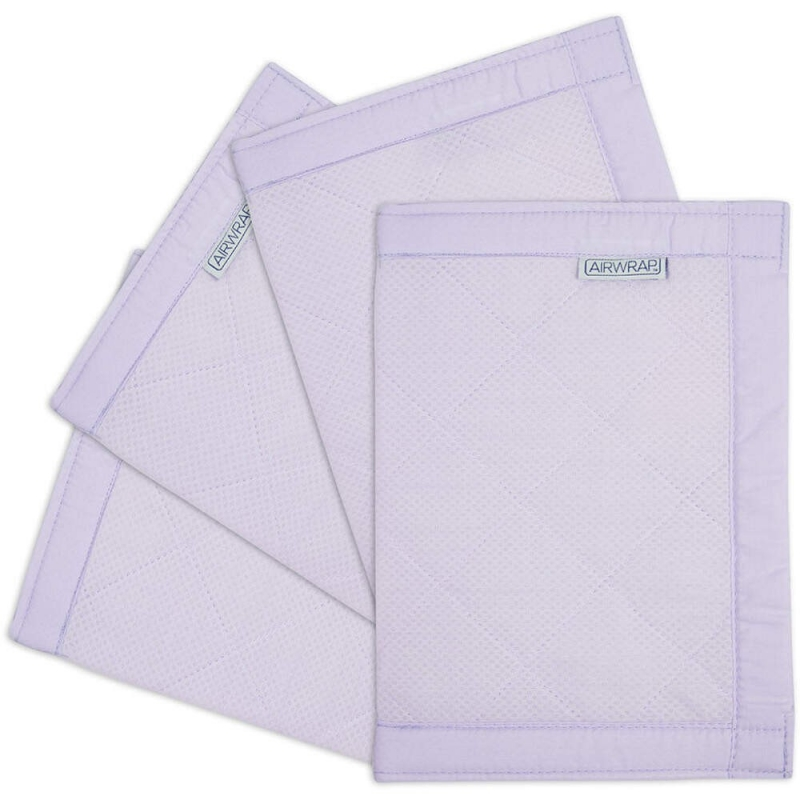 Airwrap 4 Sided Cot Protector-Lavender