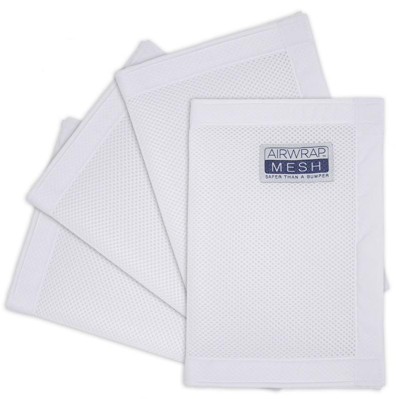 Airwrap Mesh Bumper 4 Sided-White