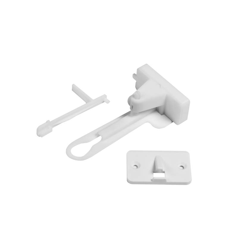 Fred Adhesive Top Drawer Catch-Pure White