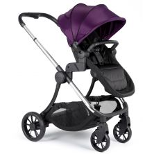 iCandy Lime Pushchair And Carrycot-Mulberry (New 2019)