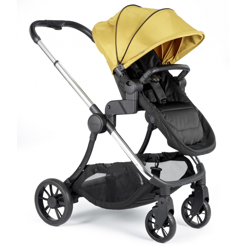 iCandy Lime Pushchair And Carrycot-Turmeric (New 2019)