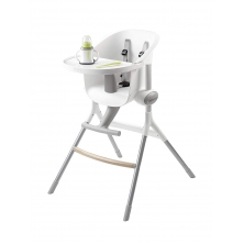 Beaba Up and Down Height Adjustable Highchair-Natural