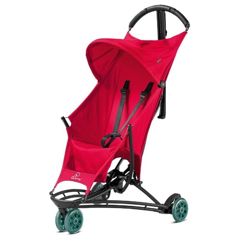 Quinny Yezz Stroller-Bold Berry + Free Yezz Raincover!